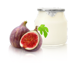 Yoghurt met vijgen